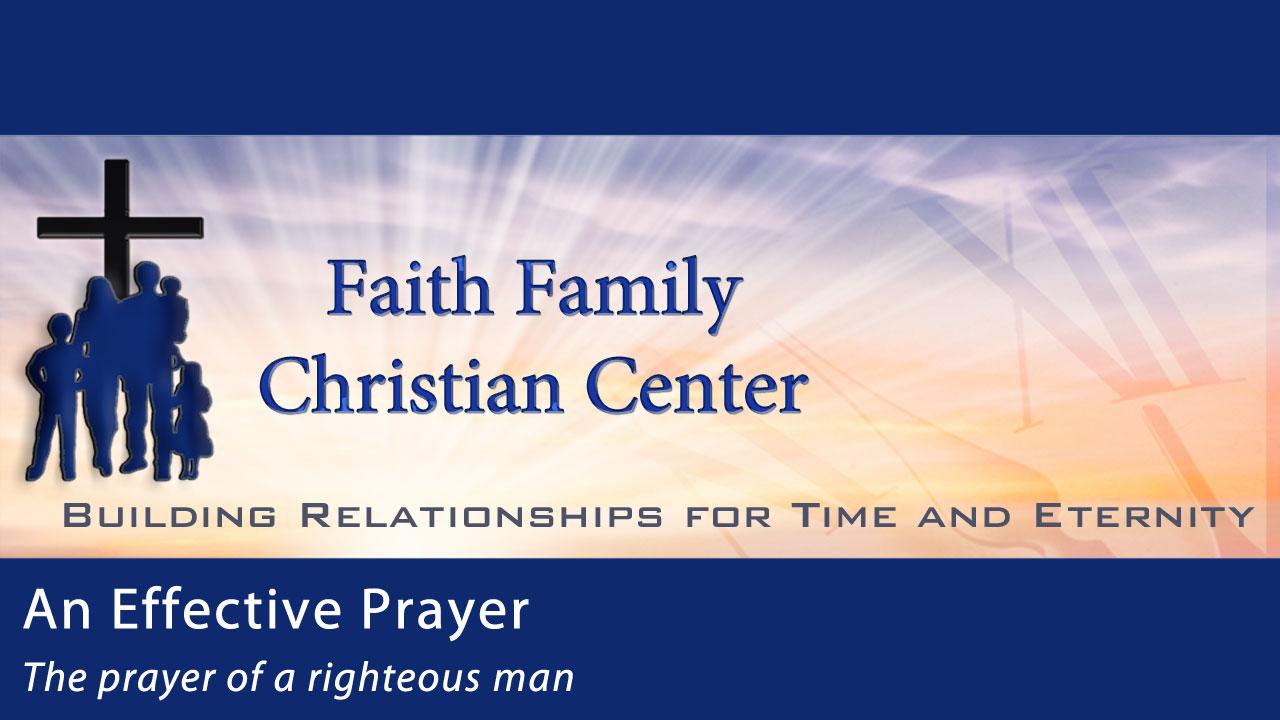 An Effective Prayer