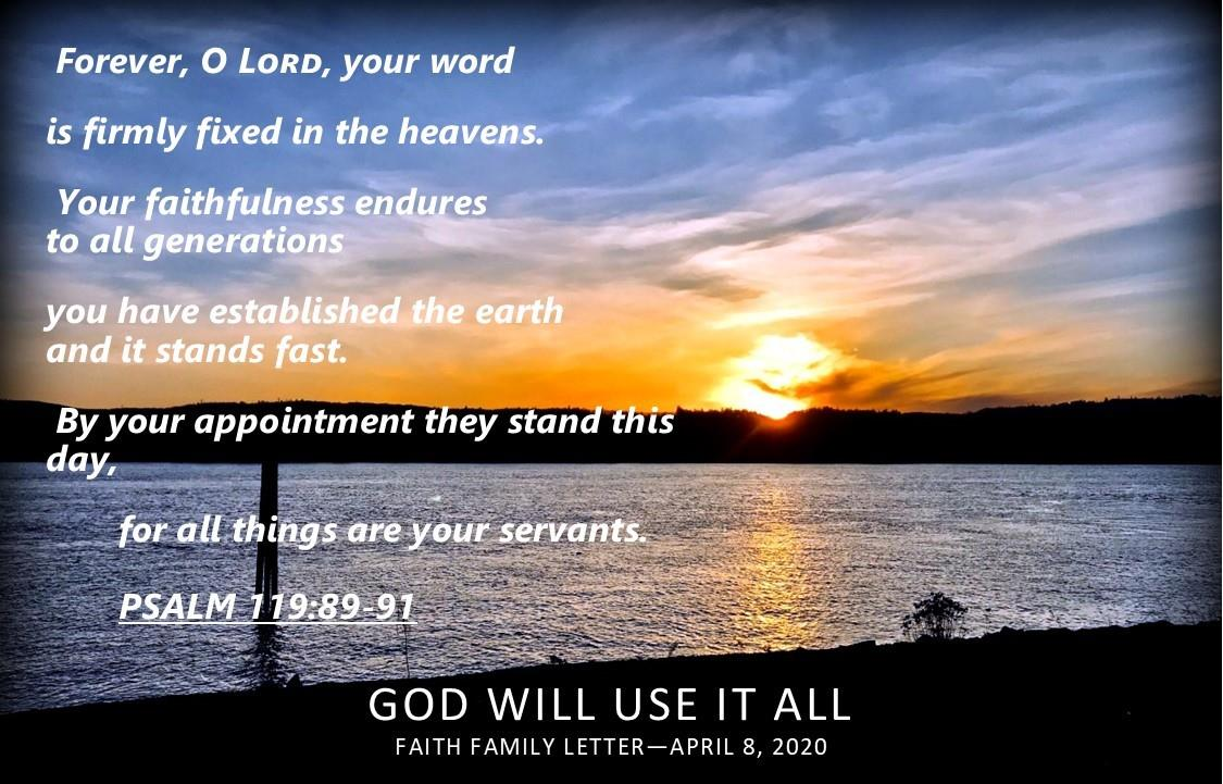 God Will Use All Things