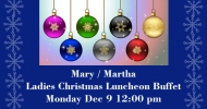 Mary Martha Christmas Luncheon