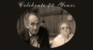 70th Wedding Anniversary!