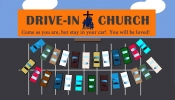 Drive-In Church This Sunday!