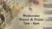 Wednesday Prayer & Praise